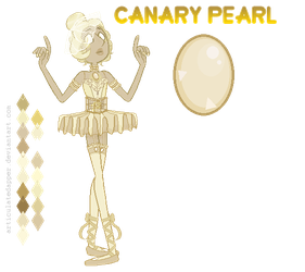 - Steven Universe OC : Canary Yellow Pearl by ArticulateDapper