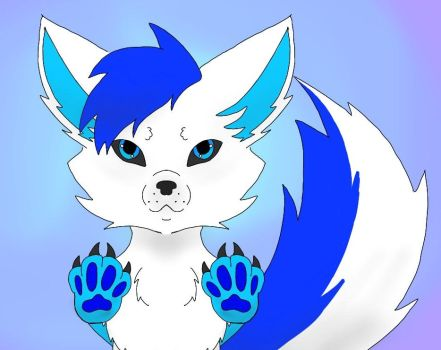 Furry Games and Giveway Mascot by LittleRinnyKagamine