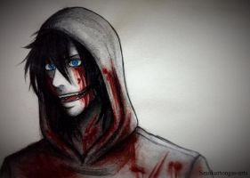 Creepypasta: jeff the killer by Smokertongas-arts