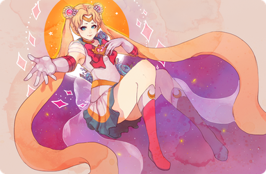 sailor moon by lackless