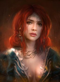Triss Merigold by TamikaProud