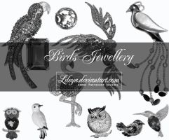Birds Jewellery by Lileya