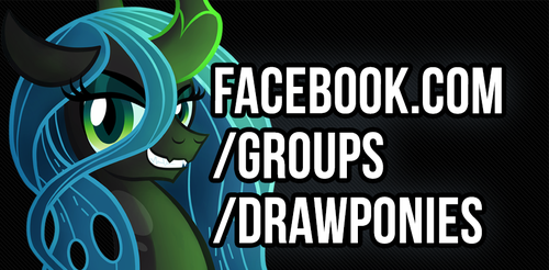 Facebook.com/groups/drawponies by celestia-plz