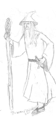 Gandalf by TheMagicalFish