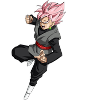 Black SSJ Rose v7 by SaoDVD