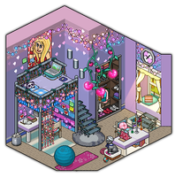 Girly bedroom design #2 by Cutiezor