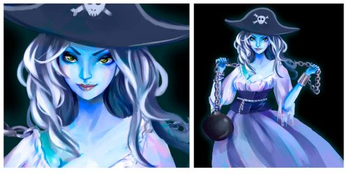 WIP - pirate ghost by Pipi-Poyo