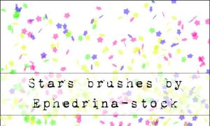 Star brushes by ephedrina-stock