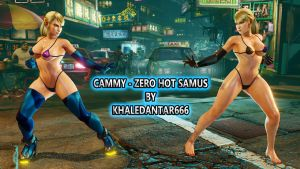 CAMMY - ZERO HOT SAMUS by Khaledantar666