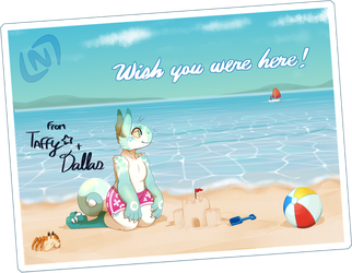 SEPTEMBER PROMPT : Wish You Were Here! by LastNight-Light
