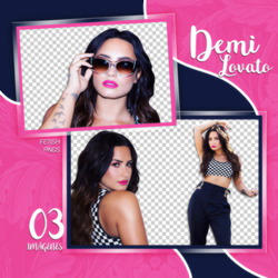 PACK PNG 141 // DEMI LOVATO by fetishpngs