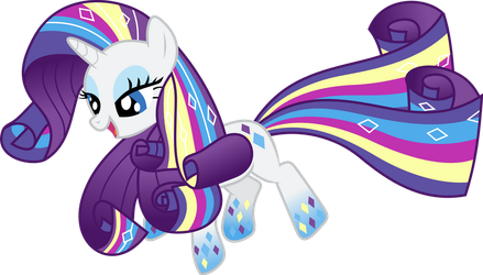 Rainbow Power Rarity by whizzball2