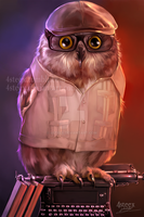 commission: turn me into an owl by 4steex