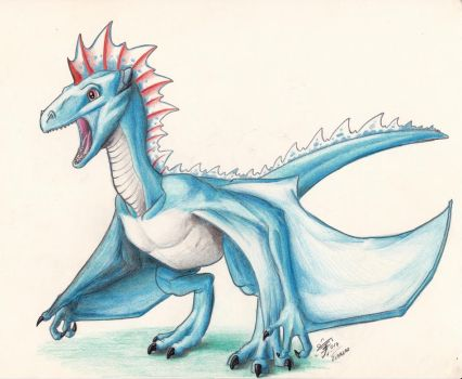 Wyvern by Last-Alexiel