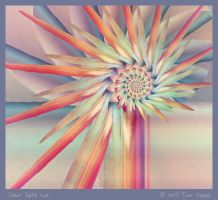 Colour Spills Over by aartika-fractal-art