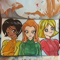 Totally Spies Daily Drawing by the-kid36