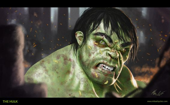 The Hulk - 02 by mikaelquites
