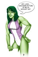 She - Hulk by gambaryance
