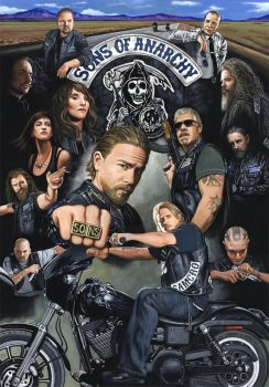 Sons of Anarchy by ED-LLOYD