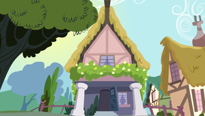 Scootaloo house front by jrrhack