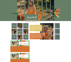 PREMADE LAYOUT | ft. Kendall Jenner by flamekeepers