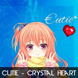 Cutie - Crystal Heart by djmuzic95
