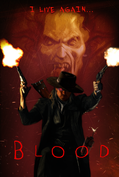 (Fanmade) Blood movie poster by Generalorder4