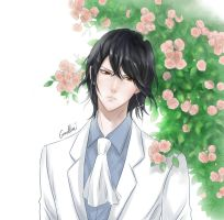 Noblesse: Rai with flowers by camellia029