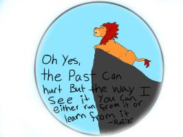 Lion King ( please excuse my derpy handwriting ) by SamanthaPartys