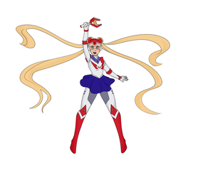 sailor voltron by viikiings