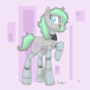 Robot Pony by Baa-Chan01