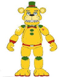ATOMIC GOLDEN FREDDY v7 by nucman