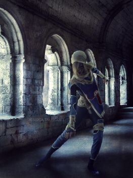 Sheik stalking by away-with-the-fae