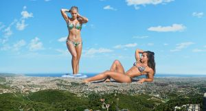 Sylvie Van Der Vaart and Vanessa Serros by The-WonderSlug