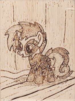 Show Stopper Sweetie Belle Pyrography by Malte279