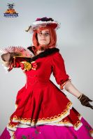 Maki Victorian dress Idolized - Love Live cosplay by Aure-magik