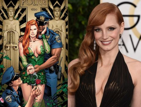 Jessica Chrstain as Poison Ivy by BlackBatFan
