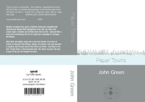 Paper Towns Bookcover by Lunitaire