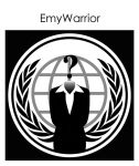 Anonymous Logo Woman Vector by EmyWarrior