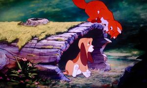 1001 Animations: The Fox and the Hound by Regulas314