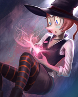 Steven Universe Witch Pearl ! by JonnyCupCake
