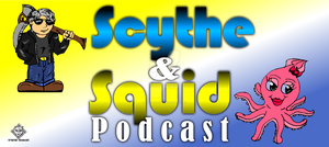 Scythe and Squid logo by simplemanAT