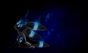 brs as the umbreon by Cocoroll