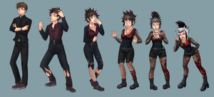 Gothgirl tg sequence commission by Rezuban