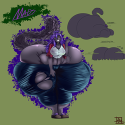 [Comm] Big Booty Mads by DotintheParadox