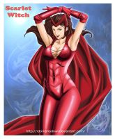 SCARLET WITCH by darkshadowartworks