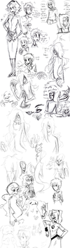 Someone said sketchdump, and I showed up. by LinksInMe