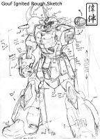 Gouf Ignited Rough by sandrum
