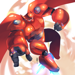 Baymax by LillinApocalypse