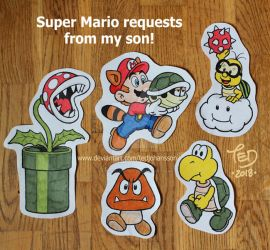 Super Mario requests by TedJohansson